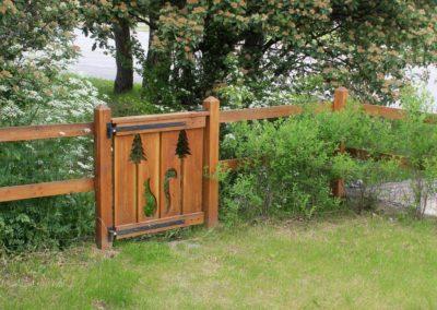 Clôture-aménagement jardin à Briançon