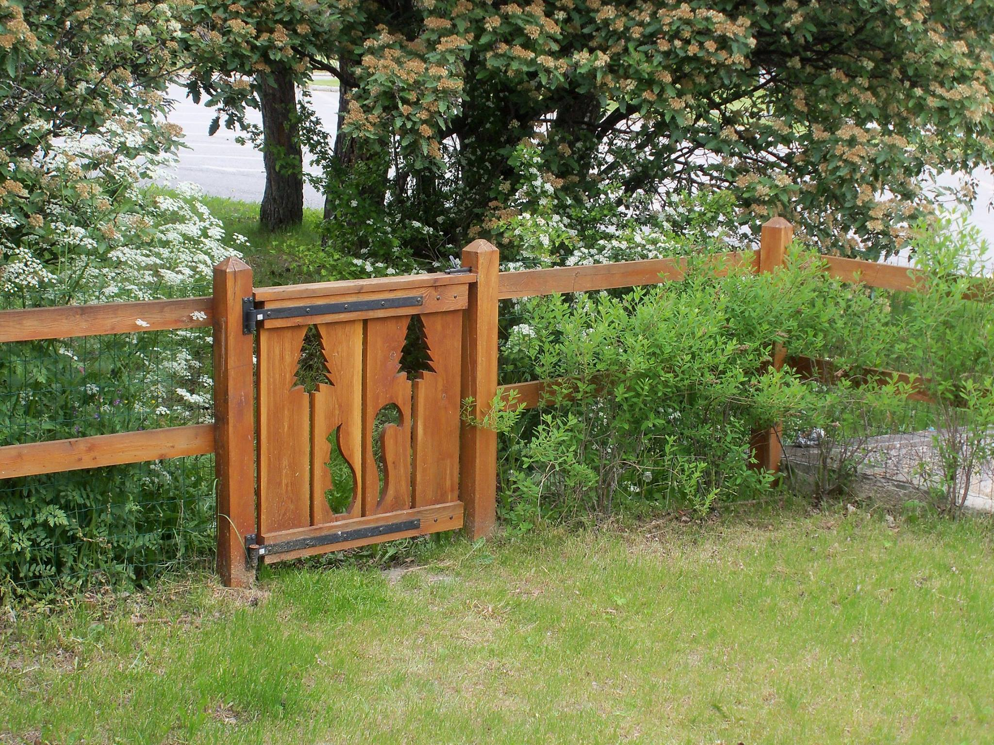 Clôture-aménagement jardin-Briançon