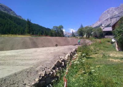 aménagements paysagers à proximité d'Embrun