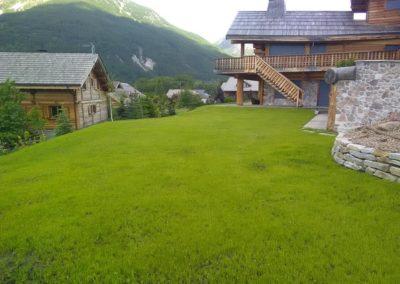 Créations et entretiens de jardins à proximité de Briançon