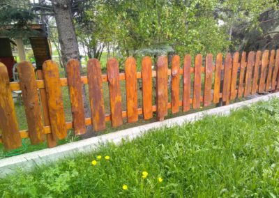 Clôture-aménagement paysager à Embrun