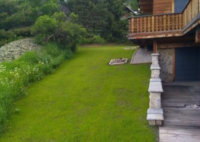 Création et entretien jardin à proximité de Briançon