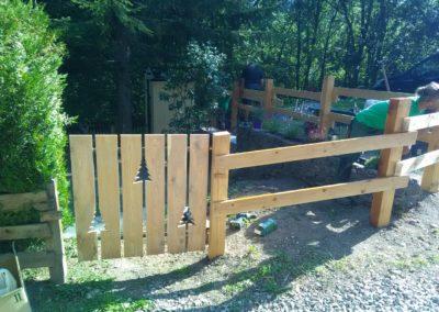 Création de jardin vers Briançon