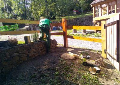 Création jardin à proximité de Briançon