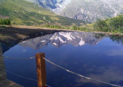Aménagement paysager par Montagne verte à Montgenèvre