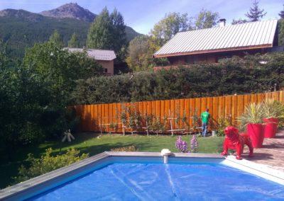 Aménagement paysager à Briançon