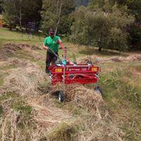 L'entretien d'espaces verts près de Briançon